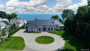 Grosse Pointe Shores home, most expensive homes in Michigan